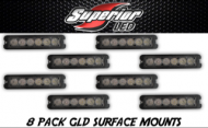 8-Pack GLD-6 TIR 6 Grill Lights