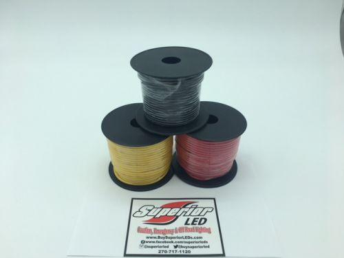 100ft Roll Of 14 Gauge Wire Choose Color
