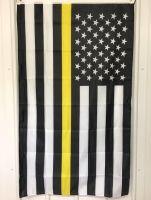Thin Yellow Line Flag