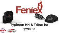 Feniex Typhoon Handheld Siren + 100W Triton Speaker